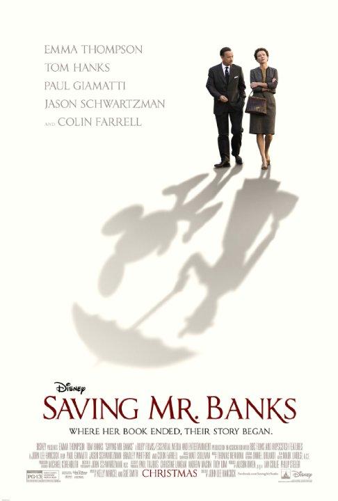 Saving Mr. Banks [67%]