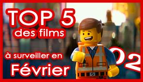 Les 5 films à voir en février 2014