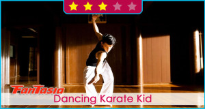 Dancing Karate Kid