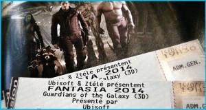 Tirage de billets pour Guardians of the Galaxy à Fantasia!